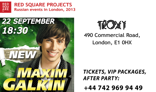 Maxim Galkin Russian comedian in London in English